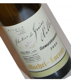 "Gewurztraminer SELECTION DE GRAINS NOBLES"" 2005 - Mochel-Lorentz"